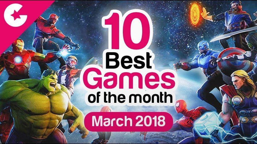 top 10 downloaded games 2018