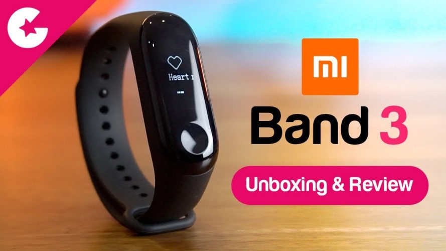 647d395bd3d Xiaomi Mi Band 3 Unboxing   Review - Best Fitness Tracker   - Gadget Gig