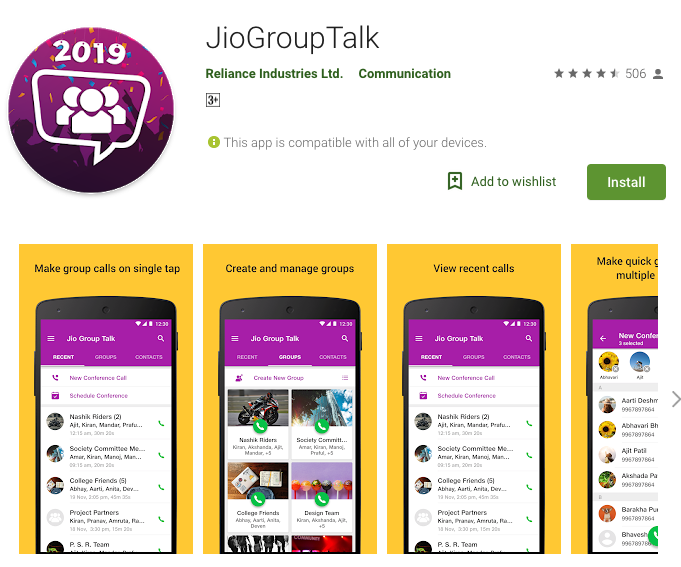 MUST HAVE APP FOR JIO USERS!! Jio Group Talk - Gadget Gig
