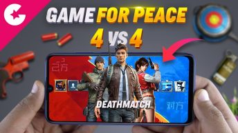 Game For Peace - 4vs4 Gameplay (NEW PUBG Mode