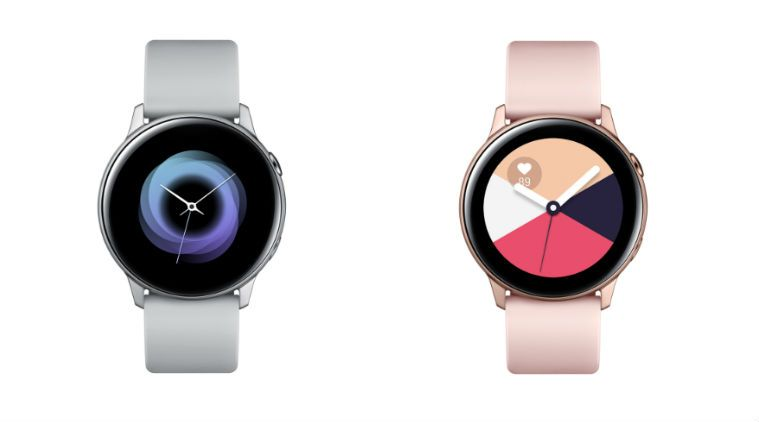 Samsung Galaxy Watch Active, Galaxy Fit and Fit E launched in India