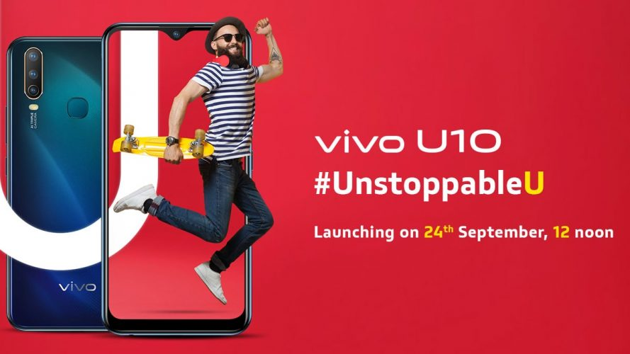 Vivo U10 comes with 5000mAh battery and 18W fast charging at Rs.8,990