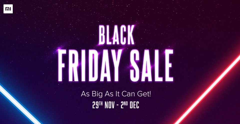 Xiaomi Black Friday sale