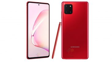 Samsung Galaxy Note 10 Lite Launched In India At ₹38,999