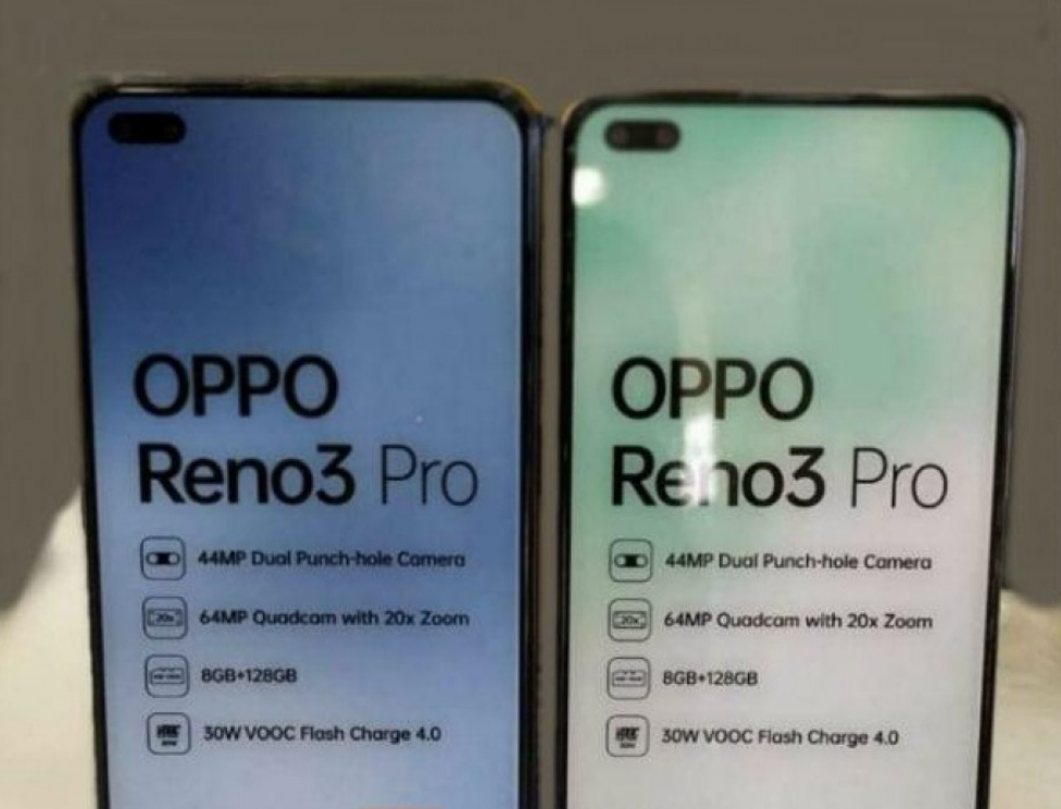Oppo Reno3 Indian Dummy Unit Reveals Specs And Details
