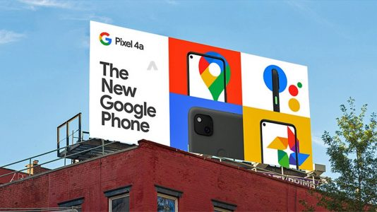 Google Pixel 4a Pricing And Promo Images Spotted On Billboards