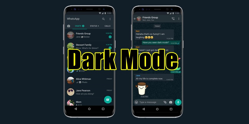 Whatsapp Dark Mode Finally Launched; Click Here To Turn It On