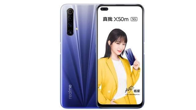 Realme X50m 5G With Quad Cameras And Snapdragon 765G Launched In China