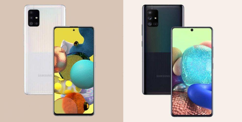Samsung Galaxy A51 5G And Galaxy A71 5G Announced Online, Ships This Summer