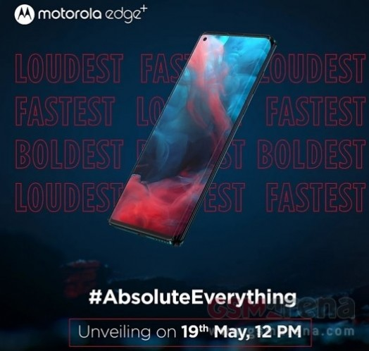 Motorola Edge+ To Launch In India On May 19 With 2 Years Guaranteed Android Updates