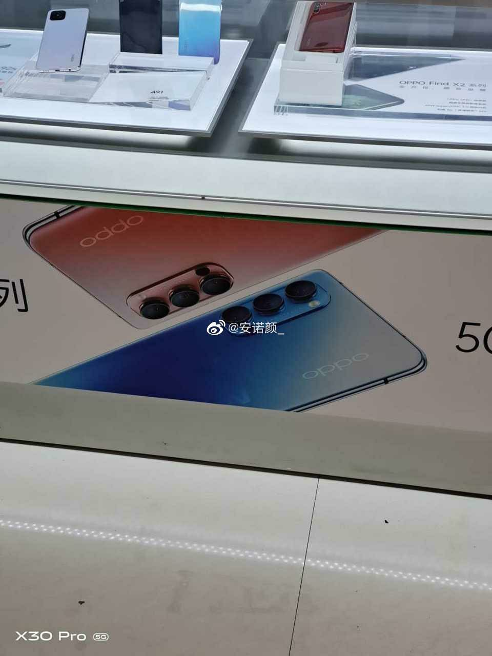 Oppo Reno4 Smartphone Popped In Promo Images Displayed In China