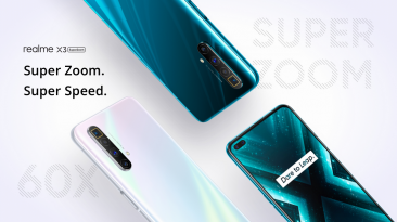 Realme X3 SuperZoom With 60X Super Zooming Capability And Snapdragon 855+ SoC Launched