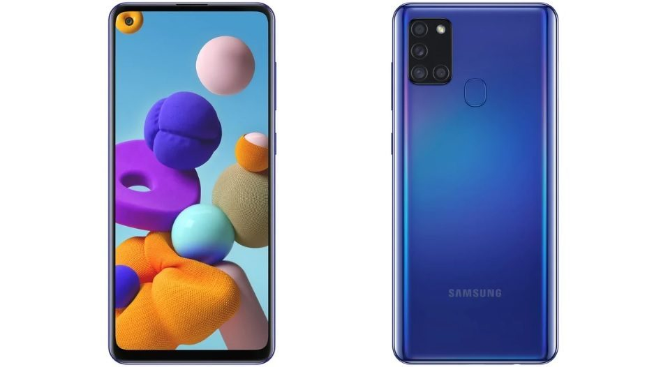 Samsung Galaxy A21s With Four Cameras, 5,000mAh Battery And OneUI Launched