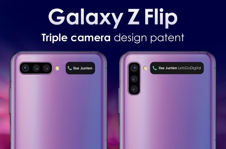 Samsung Galaxy Z Flip Second-Generation Could Come With a Vertical Or Horizontal Triple Camera Setup