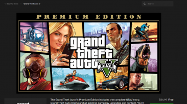 GTA 5: The Epic Games Site Crashed After Heavy Traffic; Here's How To Download The Game Properly